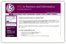 MSc in Business and Informatics
